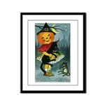 Happiest Halloween Framed Panel Print