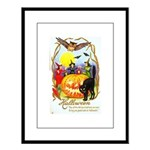 Happiest Halloween Large Framed Print