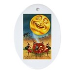 Happiest Halloween Oval Ornament
