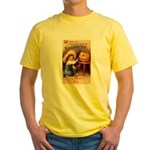 Happiest Halloween Yellow T-Shirt