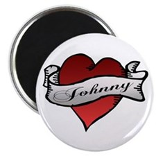 Johnny Tattoo Heart Magnet