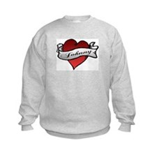 Johnny Tattoo Heart Sweatshirt