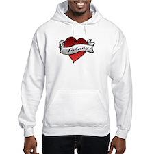 Johnny Tattoo Heart Hoodie
