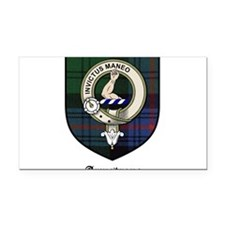 Armstrong Clan Crest Tartan Rectangle Car Magnet