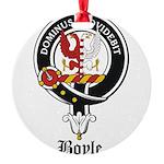 Boyle Clan Badge Crest Round Ornament