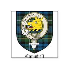 "CampbellCBT.jpg Square Sticker 3"" x 3"""