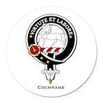 Cochrane.jpg Round Car Magnet