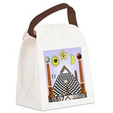 Masonic Lodge Design Canvas Lunch Bag