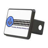 Masonic Rectangular Hitch Cover