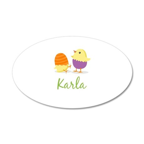 Easter Chick Karla Wall Decal