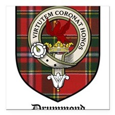 "DrummondCBT.jpg Square Car Magnet 3"" x 3"""
