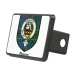Duncan Clan Crest Tartan Rectangular Hitch Cover