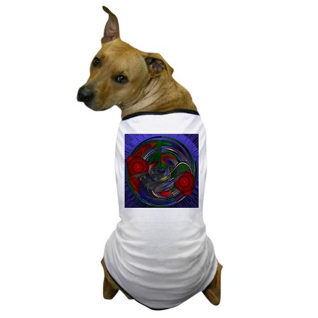 Abstract 005 Dog T-Shirt