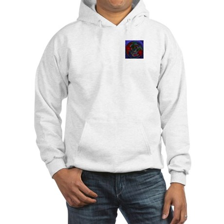 Abstract 005 Hooded Sweatshirt