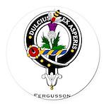 Fergusson.jpg Round Car Magnet