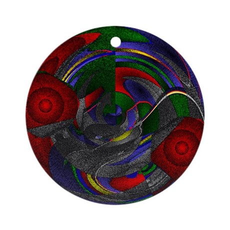 Abstract 005 Ornament (Round)