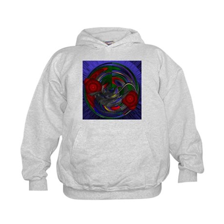 Abstract 005 Kids Hoodie