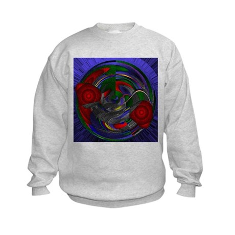 Abstract 005 Kids Sweatshirt
