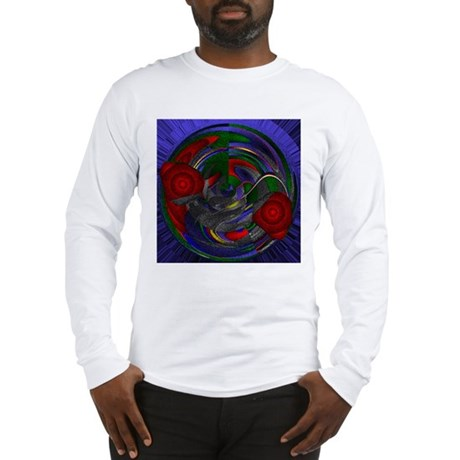 Abstract 005 Long Sleeve T-Shirt