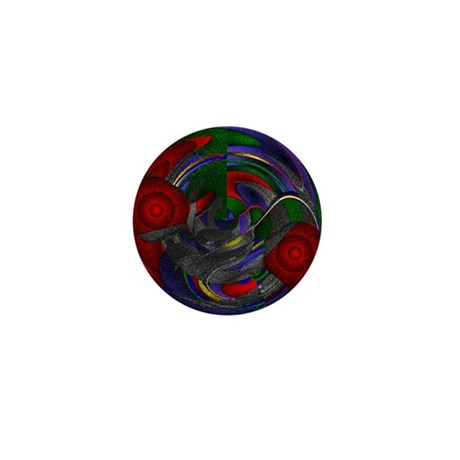 Abstract 005 Mini Button (10 pack)