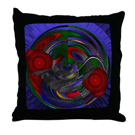 Abstract 005 Throw Pillow