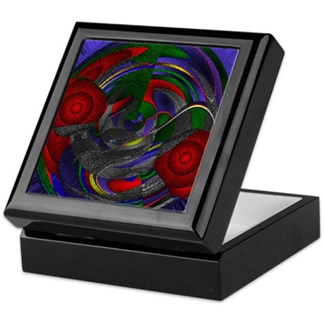 Abstract 005 Keepsake Box