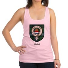 MacNeil Clan Crest Tartan Racerback Tank Top