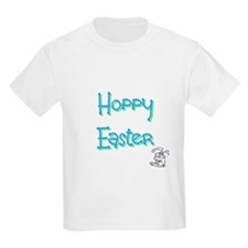 Hoppy Happy Easter Easter Bunny Gifts T-Shirt