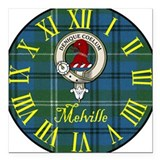 "MelvilleCBT.jpg Square Car Magnet 3"" x 3"""