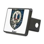 Napier Clan Crest Tartan Rectangular Hitch Cover