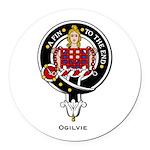Ogilvie.jpg Round Car Magnet