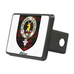 Oliver CLan Crest Tartan Rectangular Hitch Cover