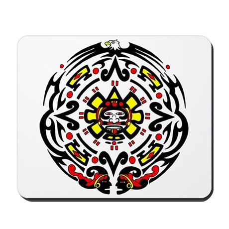 Tribal Mayan Calender Mousepad