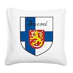 SuomiShield.jpg Square Canvas Pillow
