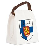 SuomiShield.jpg Canvas Lunch Bag