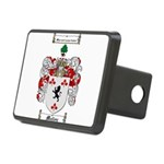 Malloy Family Crest Rectangular Hitch Cover