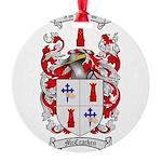 McCracken Family Crest Round Ornament