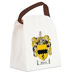 Morris Family Crest Canvas Lunch Bag