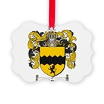 Morris Family Crest Picture Ornament