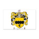 Morris Family Crest Rectangle Car Magnet