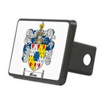 Moss Family Crest Rectangular Hitch Cover