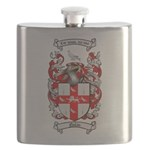 Nolan Family Crest Flask