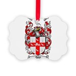 Nolan Family Crest Picture Ornament