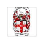 Nolan Family Crest Square Sticker 3