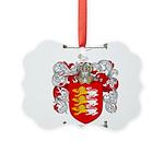 O'Brien Family Crest Picture Ornament