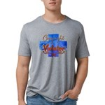 Reeves Family Crest Womens Burnout Tee