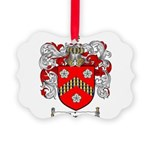 Reeves Family Crest Picture Ornament