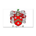 Reeves Family Crest Rectangle Car Magnet