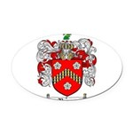Reeves Family Crest Oval Car Magnet
