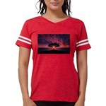 Rice Coat of Arms Womens Burnout Tee